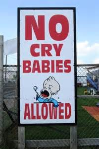 no cry babies
